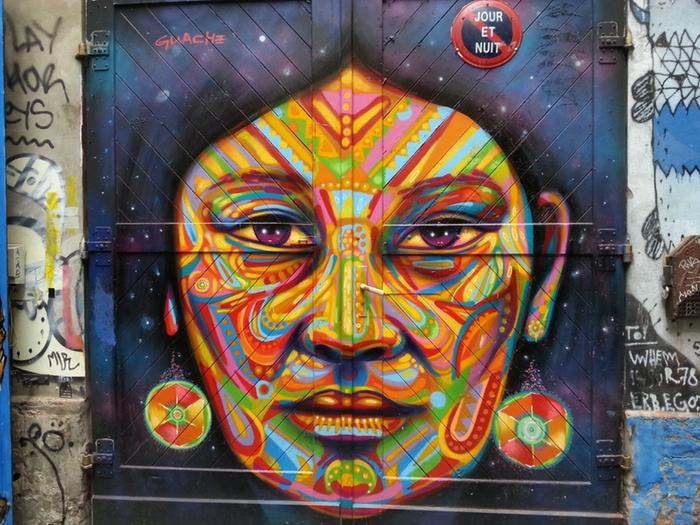 Project 'Doors of perception' artist: Guache