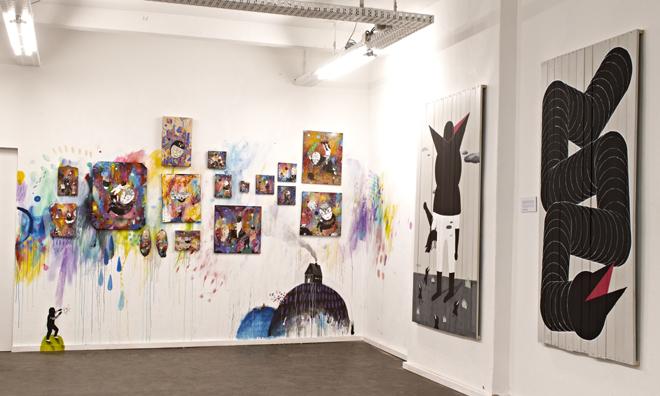 Neurotitan Gallery, Photo credits: Henryk Weiffenbach