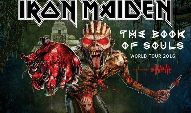Trieste, annunciato il live degli Iron Maiden il 26 luglio in Piazza Unità