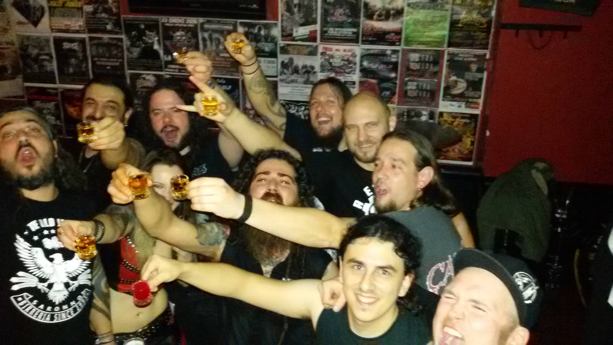 Methedras, Nightrage, Bloodhunter The Puritan Tour 2015