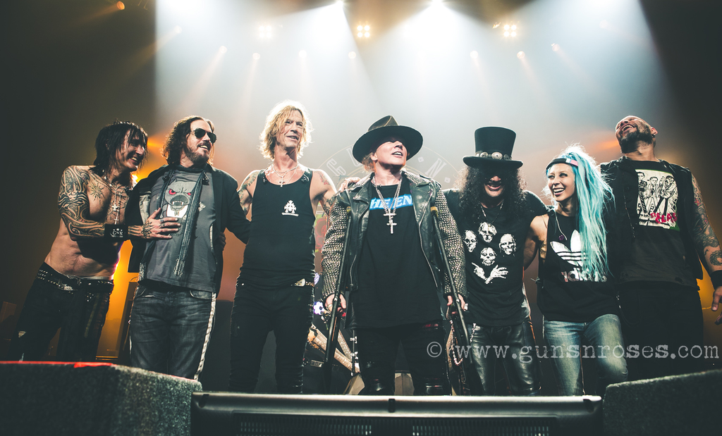 Guns N' Roses @Las Vegas, ph. by Katarina Benzova