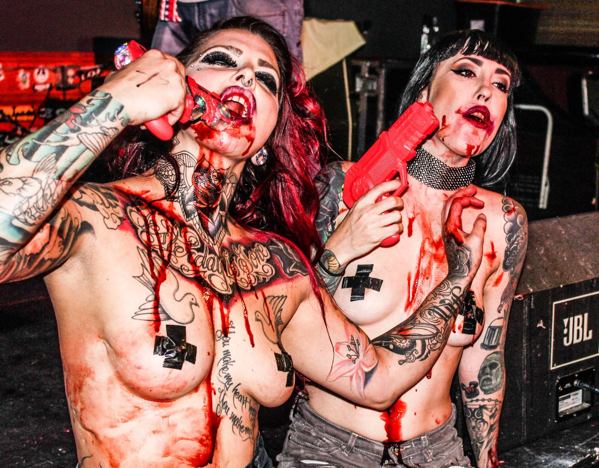 The Suicide Sirens @ The Dive Bar, Las Vegas, 13.6.2016 (C) Halie Anna Photography