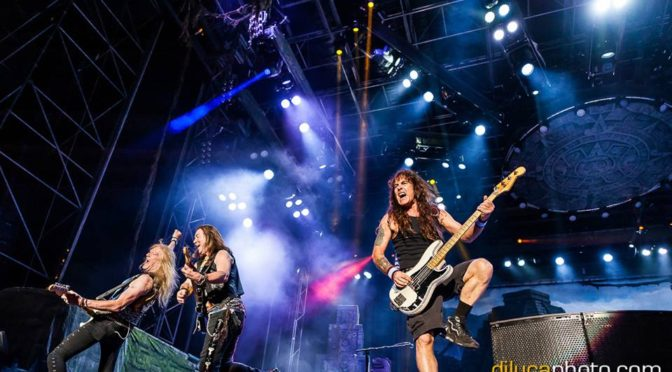 Iron Maiden, The Raven Age @Piazza Unità, Trieste, 26.7.2016