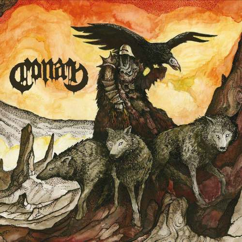 Conan, 'Revengeance', Napalm Records (2016), artwork by BlackMindsEye.org