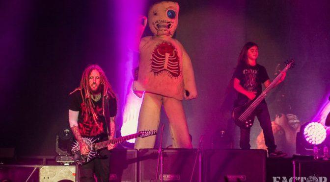 Tye Trujillo: al via il tour con i Korn -Il debutto a Bogotà