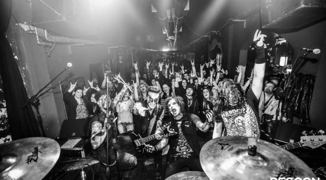 Junkie Dildoz: intervista alla band in tour con i Toxic Rose