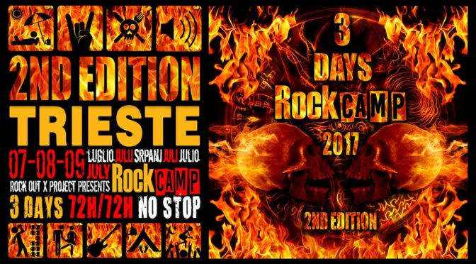 Rock Camp 2017: il bill completo con Warrior Soul, Fake Idols, Starsick System, Wardogs