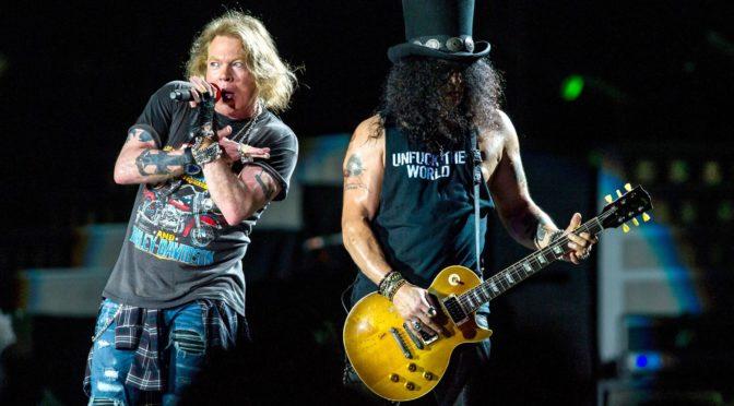 Guns N' Roses in arrivo venerdì 15 giugno al Firenze Rocks