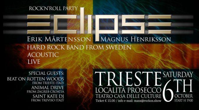 Prosecco, il rock torna protagonista sabato 6 ottobre al Teatro Casa delle Culture