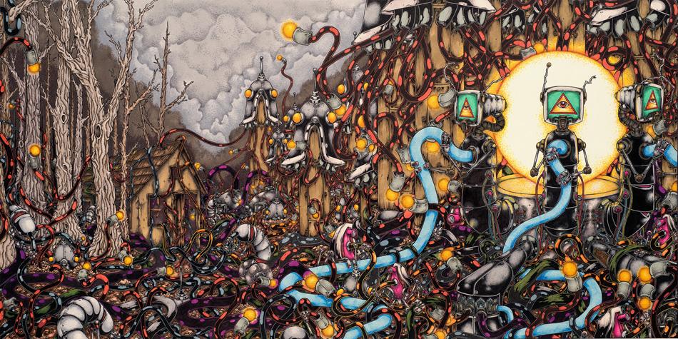 'Restarter' artwork by John Santos