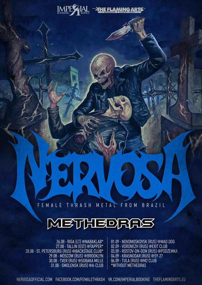 Nervosa Russian Tour 2015