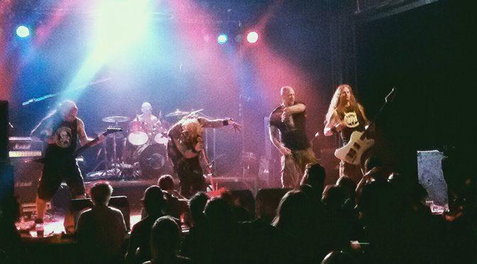 Extreme Noise Terror @Krastival Open Air Festival, Komen, 25.6.2016
