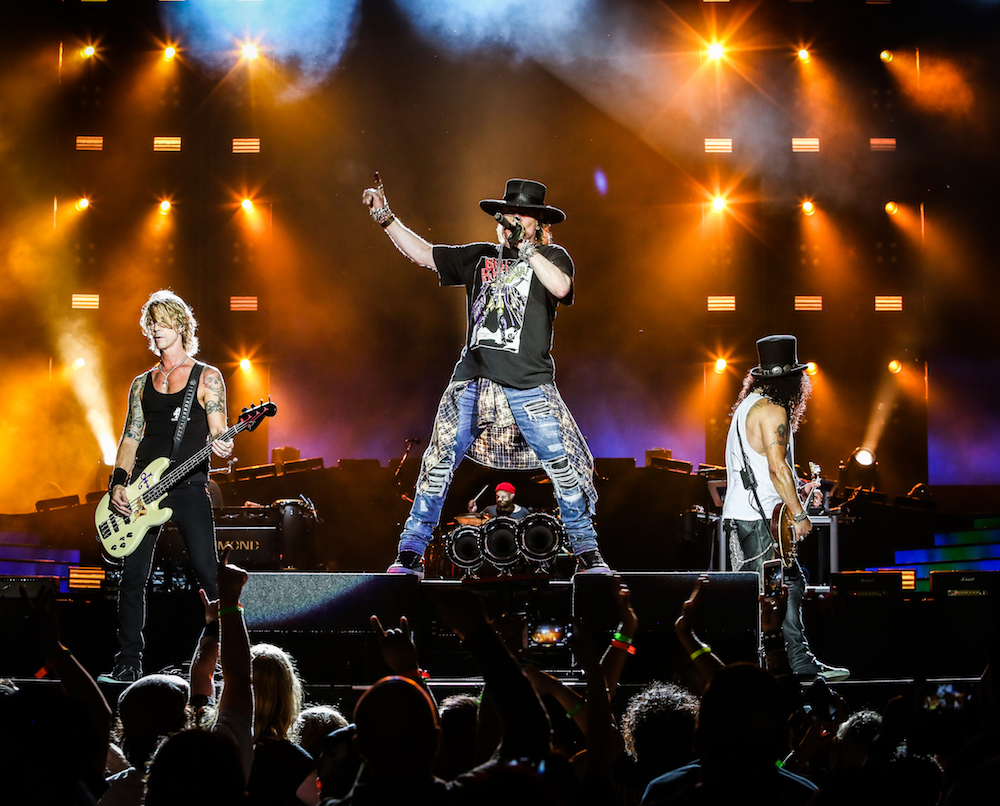 Guns N' Roses Soldier Field - Chicago, IL 07/3/16 - Photo © 2016 by: Katarina Benzova
