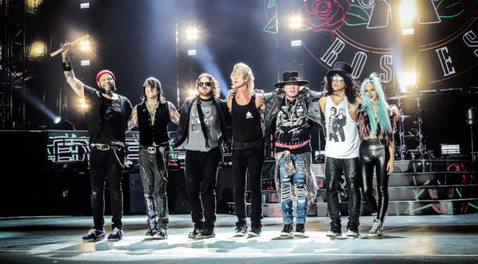 Guns N' Roses, dopo ventitre anni il ritorno in paradiso