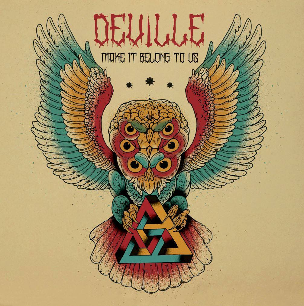 Deville, 'Make It Belong To Us', Fuzzorama Records, 2015, artwork by Steuso