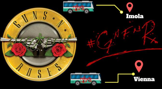 Guns N' Roses, Trieste Is Rock attiva l'autobus per le date di Imola e Vienna