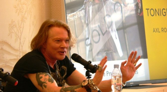 Happy Birthday Axl Rose!!!