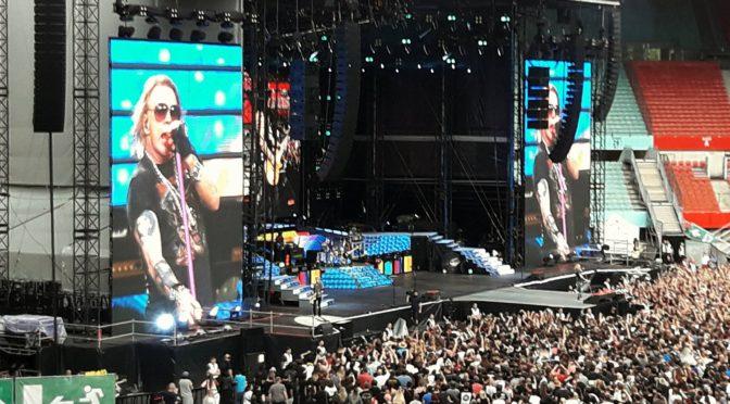 Guns N' Roses @Happel Stadion, Vienna, 10.7.2017