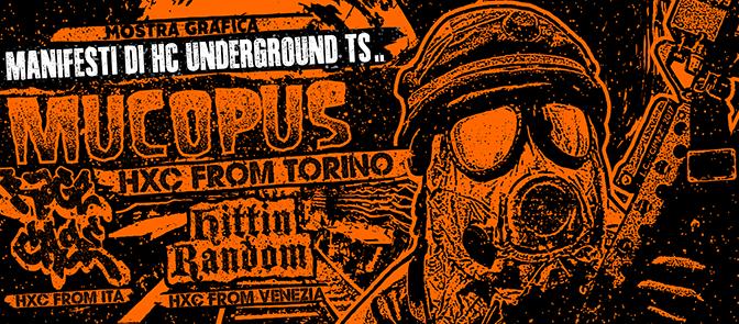 Hc Underground Trieste @Il Posto delle Fragole Sabato 25.11! Intervista a Davide e Lorenzo 'Cimaz'