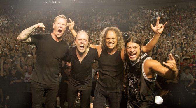 Metallica: annunciato il tour in Europa, a Vienna il 16 agosto