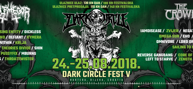 Dark Circle Fest V: un festival metal all'ex cartiera di Fiume