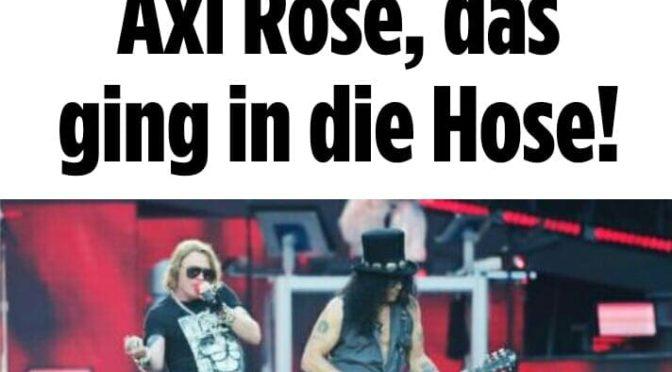 'Axl, che fiasco!' Polemiche a Berlino per l'acustica dell'Olympiastadion