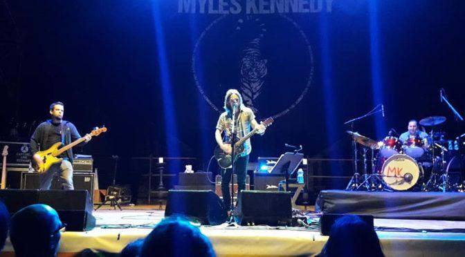 Myles Kennedy @Castello di Udine, 21.7.2018