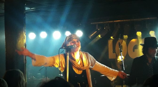 The Quireboys @Logo, Hamburg, 21.10.2018