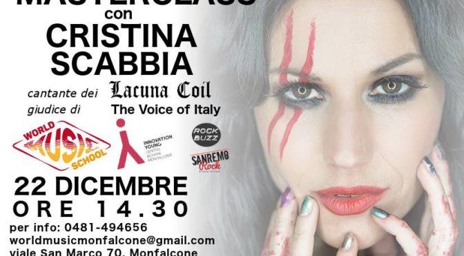 Masterclass con Cristina Scabbia a Monfalcone