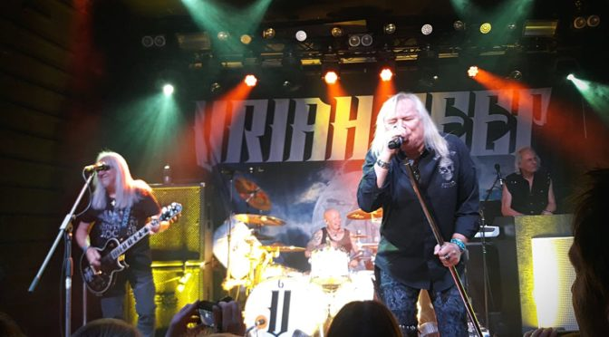 Uriah Heep @New Age club, Roncade (TV), 31.1.2019